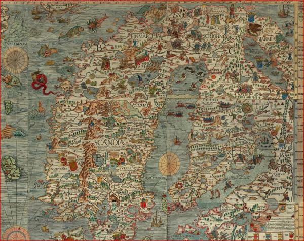 Бьярмия  карты 2