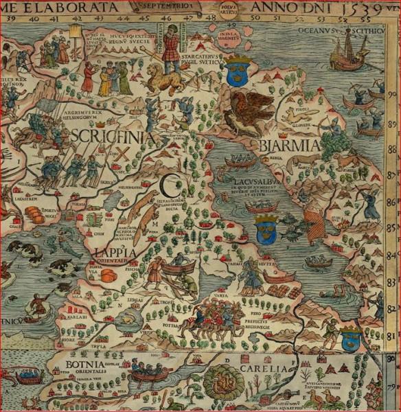 Бьярмия  карты 4