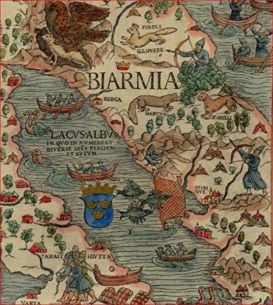 Бьярмия  карты 5