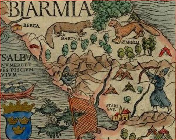 Бьярмия  карты 6