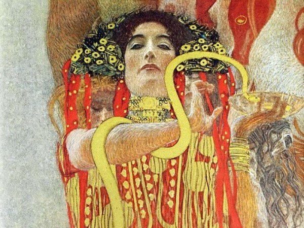 Густав Климт (1862 — 1918, австрийский художник-модернист). Аллегория медицины. 1914 г.
