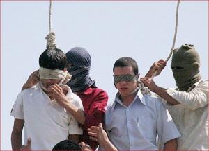 Казнь иранских гомосексуалистов