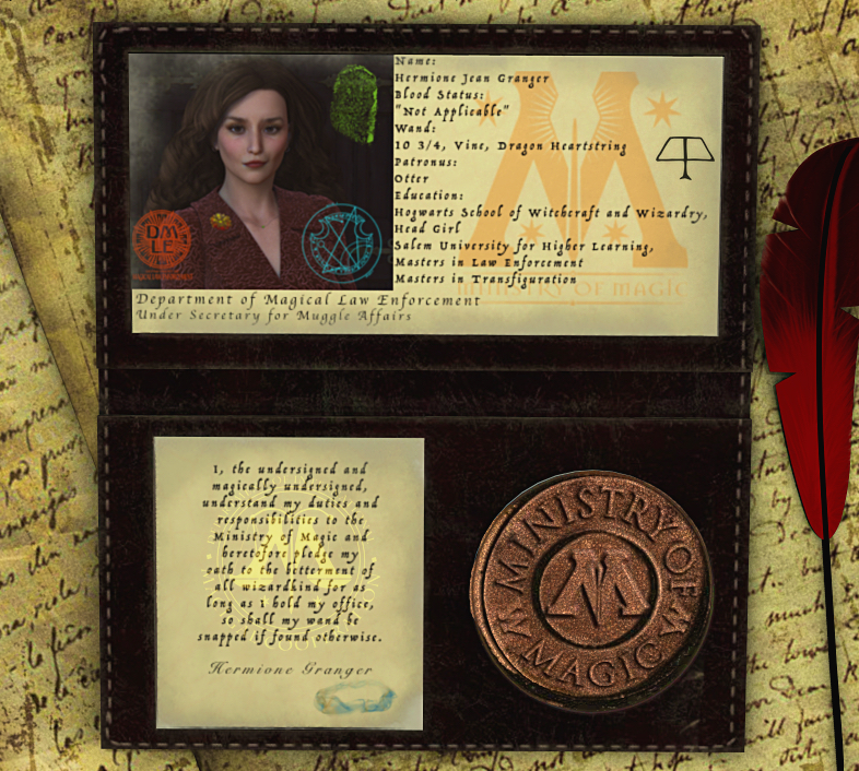 Identification, Please: Hermione (G)