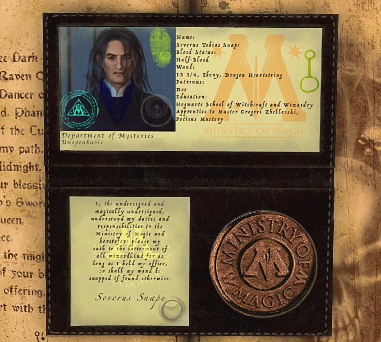 Identification, Please: Snape (G)