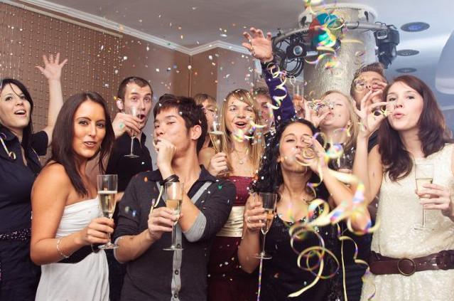 Как отметить новый год в коллективе сценарий