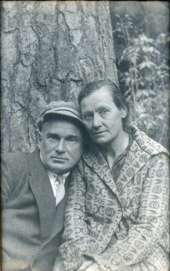 Николай Адрианович и Анна Ивановна Сидоркины