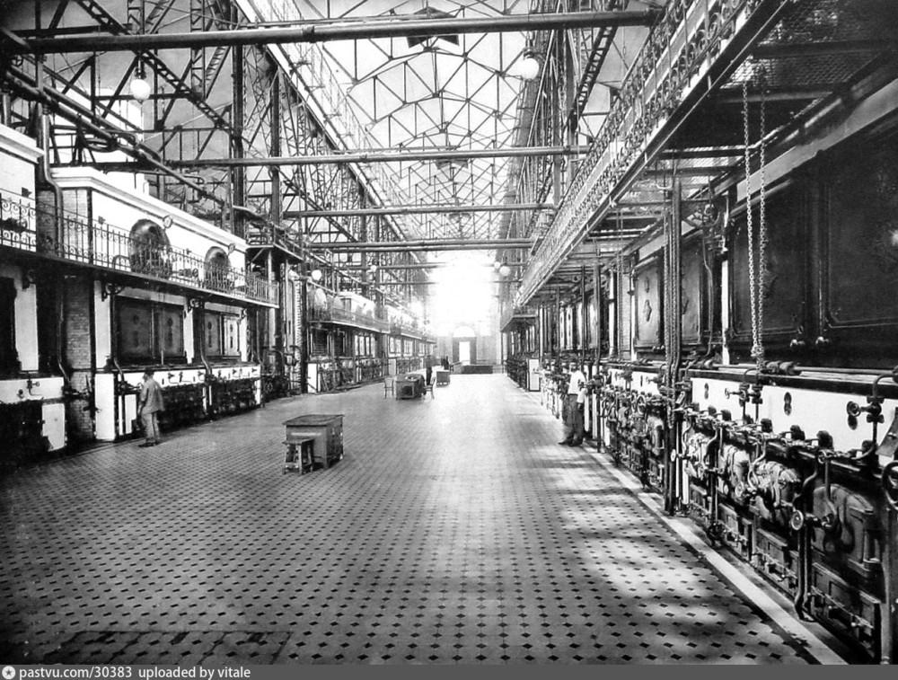 Котельное отделение, 1907-1917 г.