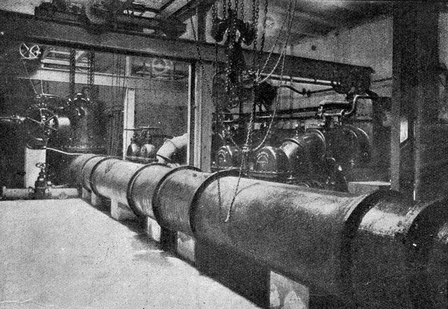Насосное отделение, 1907 г.