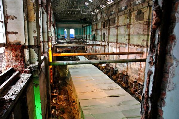 Реконструкция Городской трамвайной электростанции. Бывшее машинное отделение