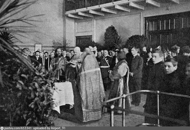 Освящение Центральной Электрической станции, 1907 г.