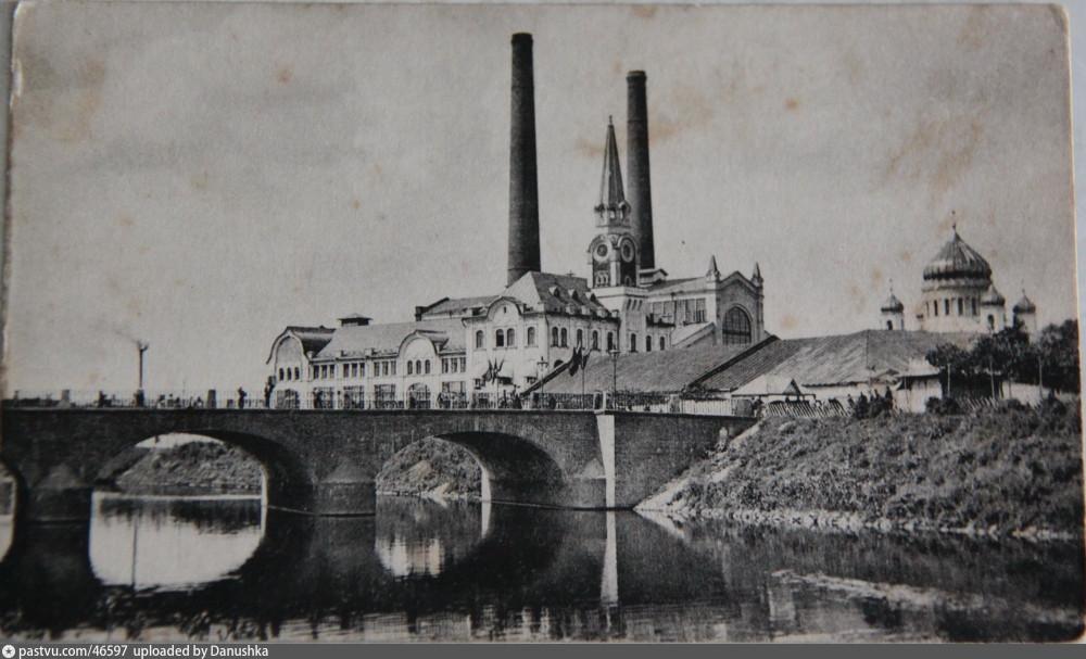 Трамвайная электростанция, 1907-1910 г.