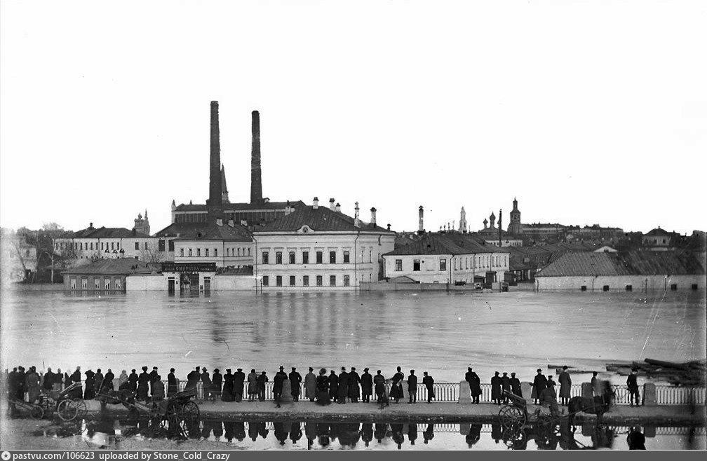 Трамвайная электростанция, 1908 г.