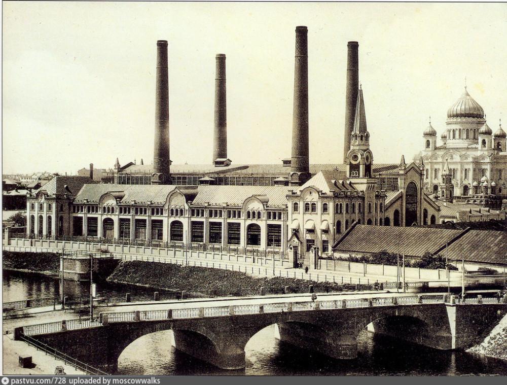 Трамвайная электростанция, 1910-1911 г.