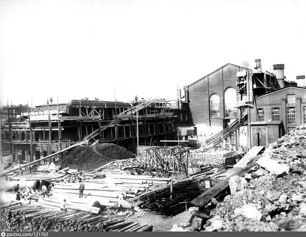 Расширение и реконструкция Центральной электростанции «Общества электрического освещения 1886 г.» в Санкт-Петербурге в 1906–1907 гг.