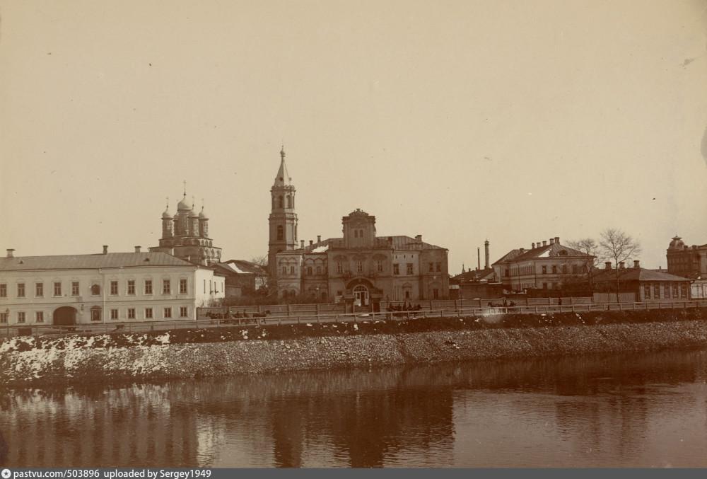 Вид на Берсеневскую набережную, 1900–1906 г.