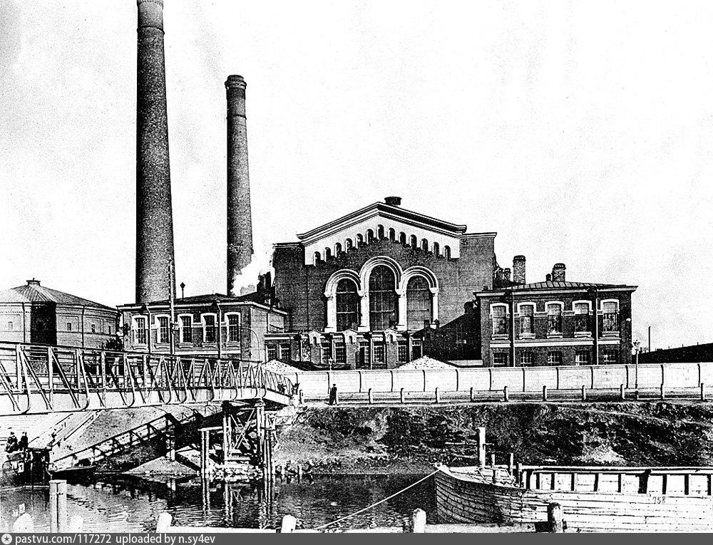 Электростанция Общества электрического освещения в Санкт-Петербурге, 1900–1910 г.