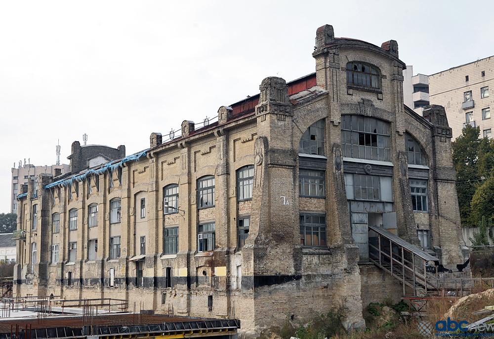 Лукьяновская электростанция в Киеве
