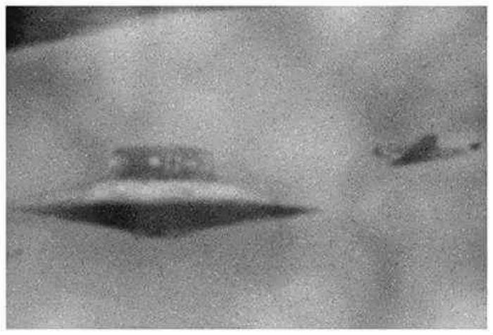 Воздушный бой с НЛО