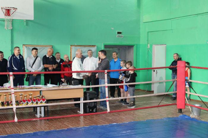 Поздравление с юбилеем Председателя Федерации бокса города Первоуральска В. А. Корякина