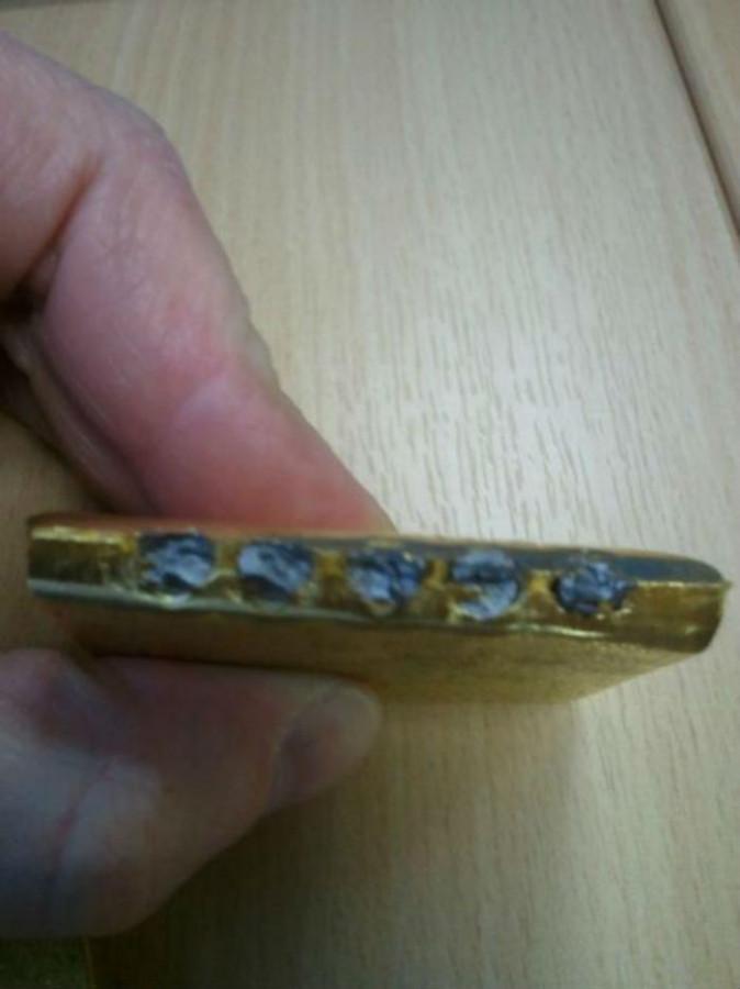 Банкиры подделывают золото