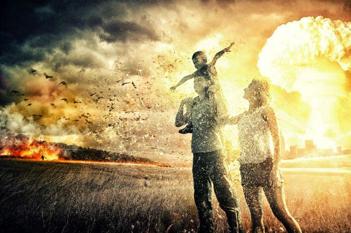 Ядерная война на земле