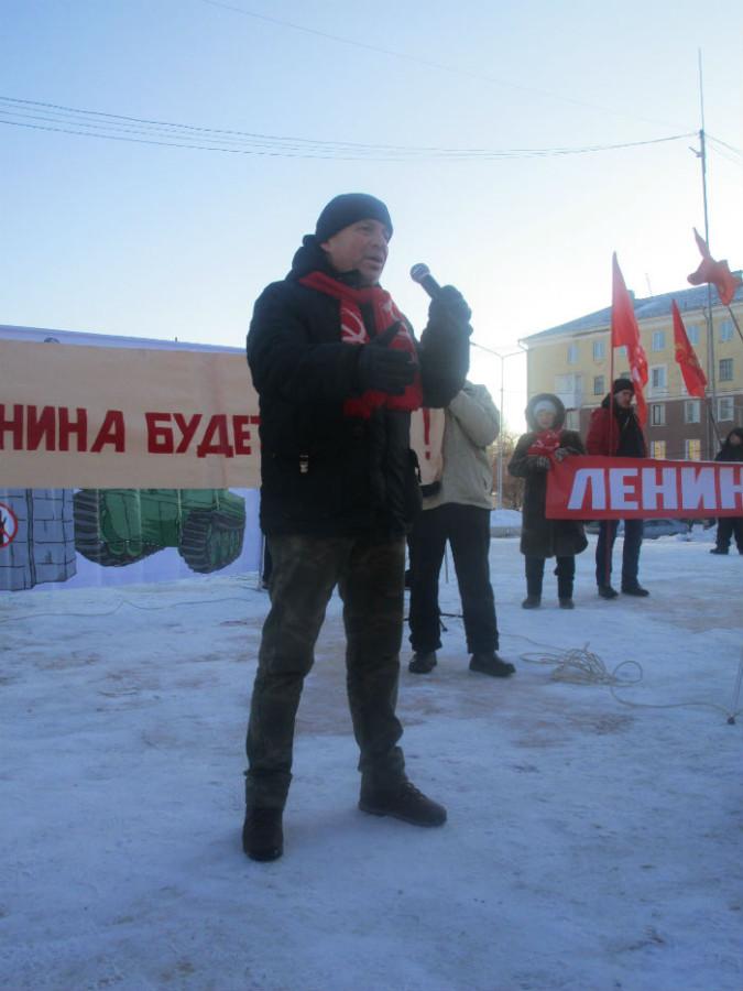Выступление Первого секретаря Первоуральского местного отделения КПРФ Владимира Вохмякова