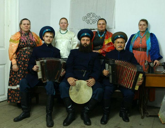 Казачий ансамбль Воля в Первоуральске