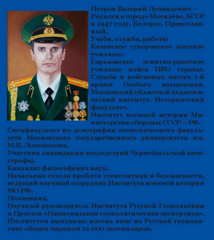 Концептика русской геополитики