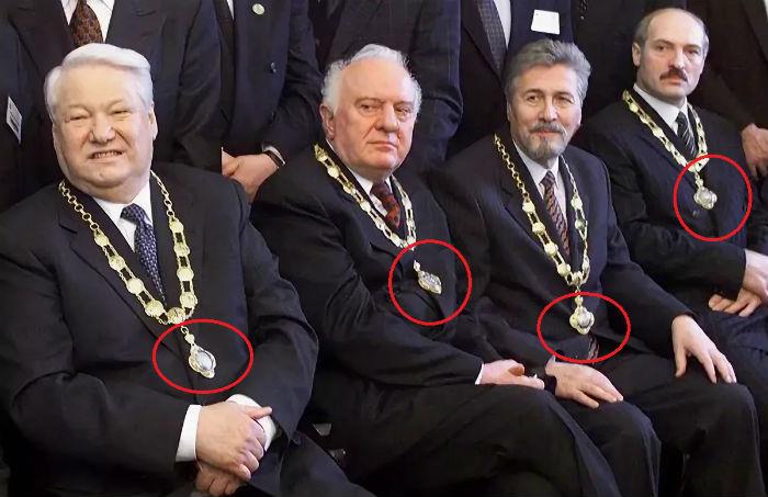 А. Г. Лукашенко с масонами России