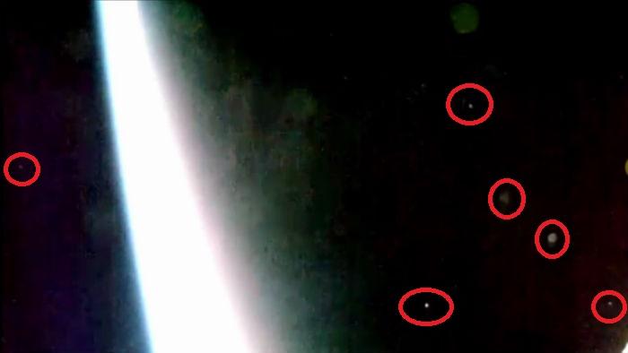 Съёмка с борта МКС