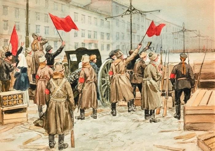 Великая Октябрьская социалистическая революция, революция или переворот. Для конкурса