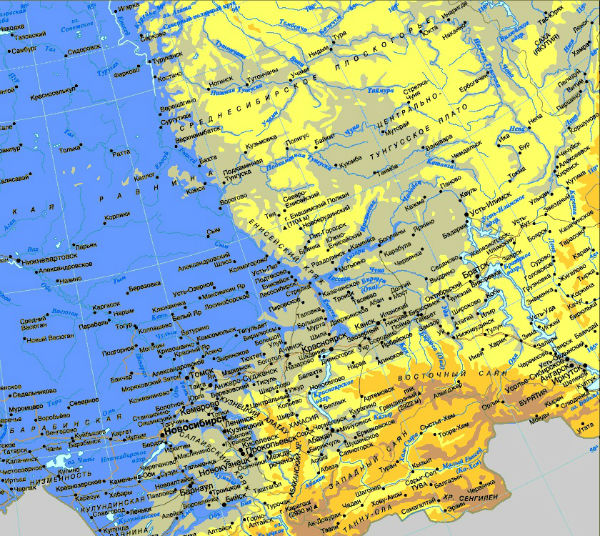 Восточная часть России