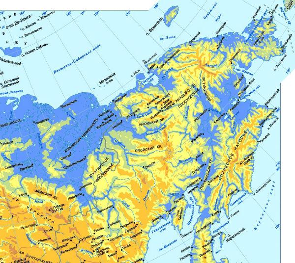 Дальневосточная часть России