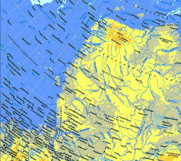 Северо-восточная часть России