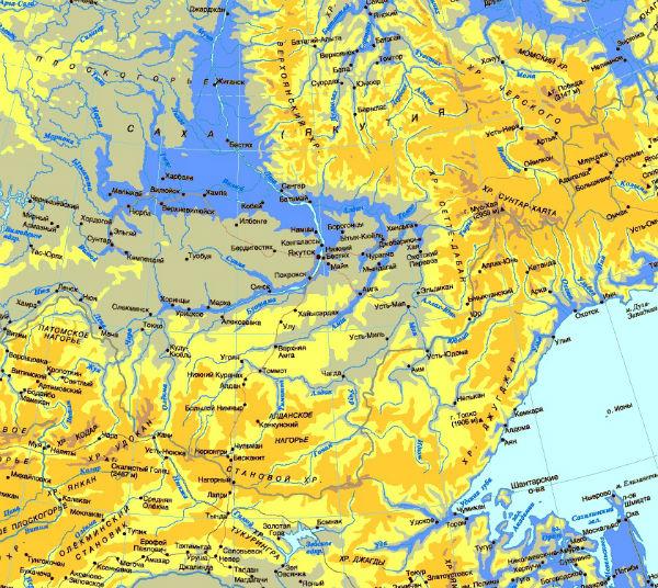 Саха, Якутия и восточная часть России