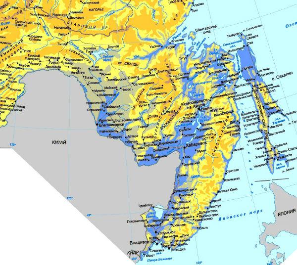 Юг Дальнего Востока