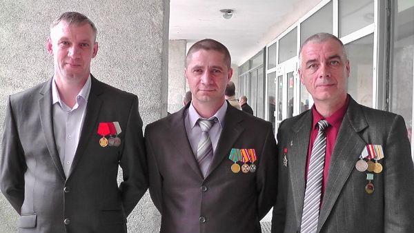 Руководители организации ветеранов боевых действий в Первоуральске
