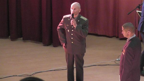 Полковник Л. В. Хабаров