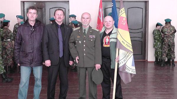 Полковник Л. В. Хабаров с первоуральцами