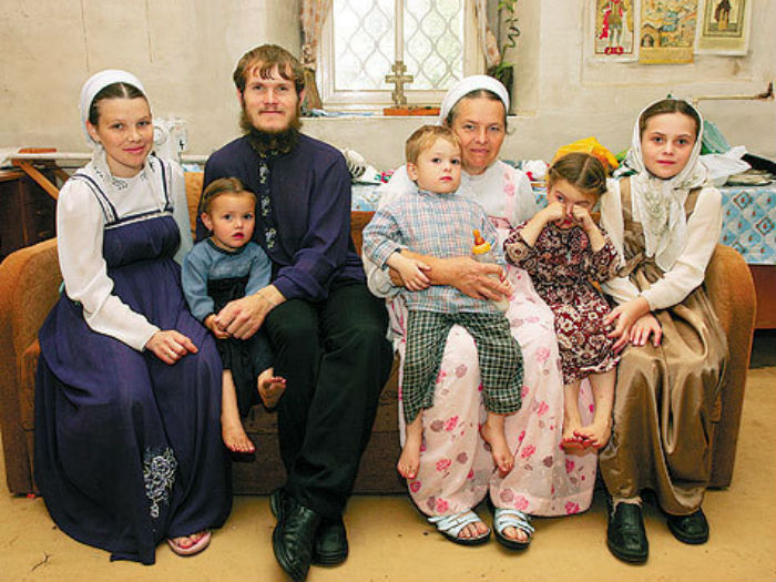 Семья староверов