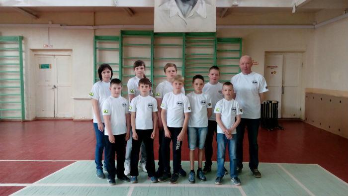 Боксёры школы бокса имени С. Романова