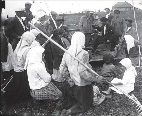 Крестьяне на Украине 1930-х годов