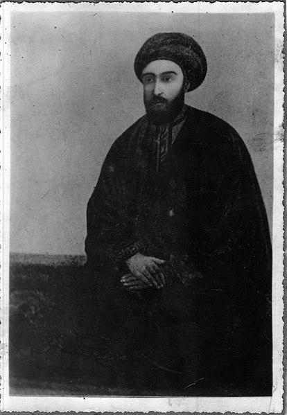 Сейид Али Мухаммед из Шираза, известный как врата к Скрытому Имаму