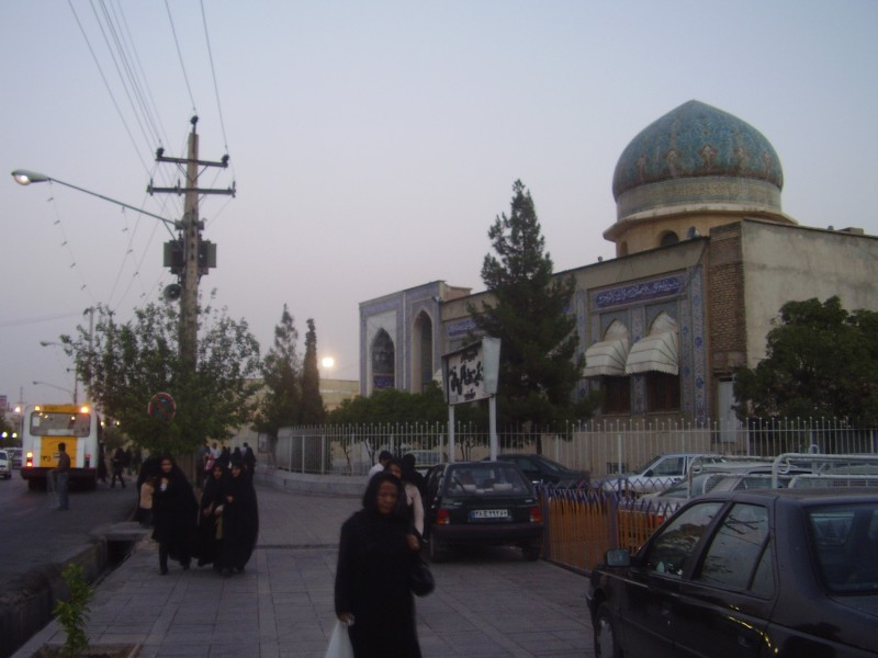 Мечеть Бейт-аль-Махди на месте дома Баби