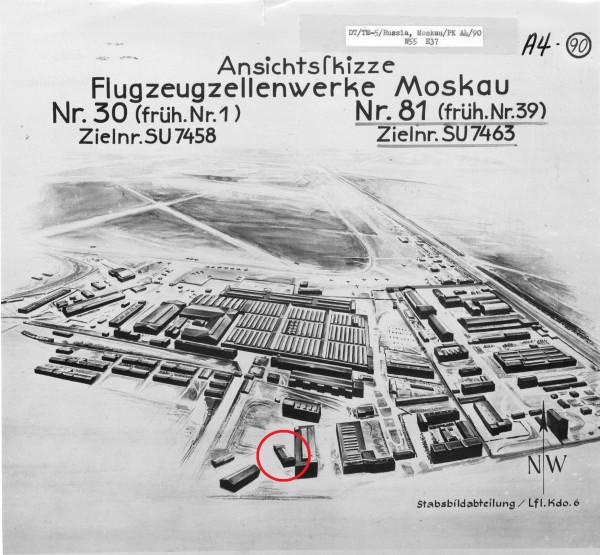 Airframe Factory 30 - Moskau - Sketch