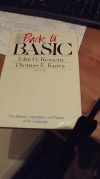 Обложка книги Back to Basic, 1985