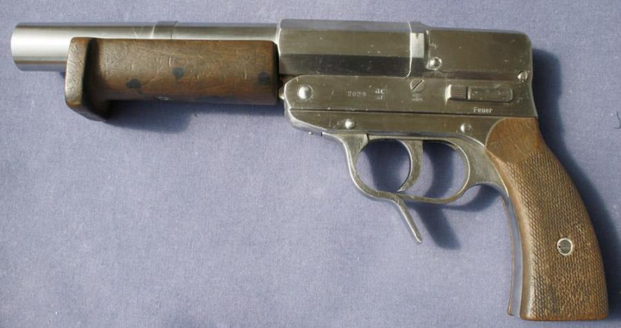 однозарядный пистолет с