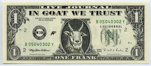 козел Фрэнк, доллар