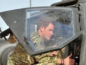 Принц Гарри в Афганистане. Фото ©AFP