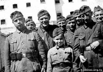 Русские солдаты армии Паулюса
